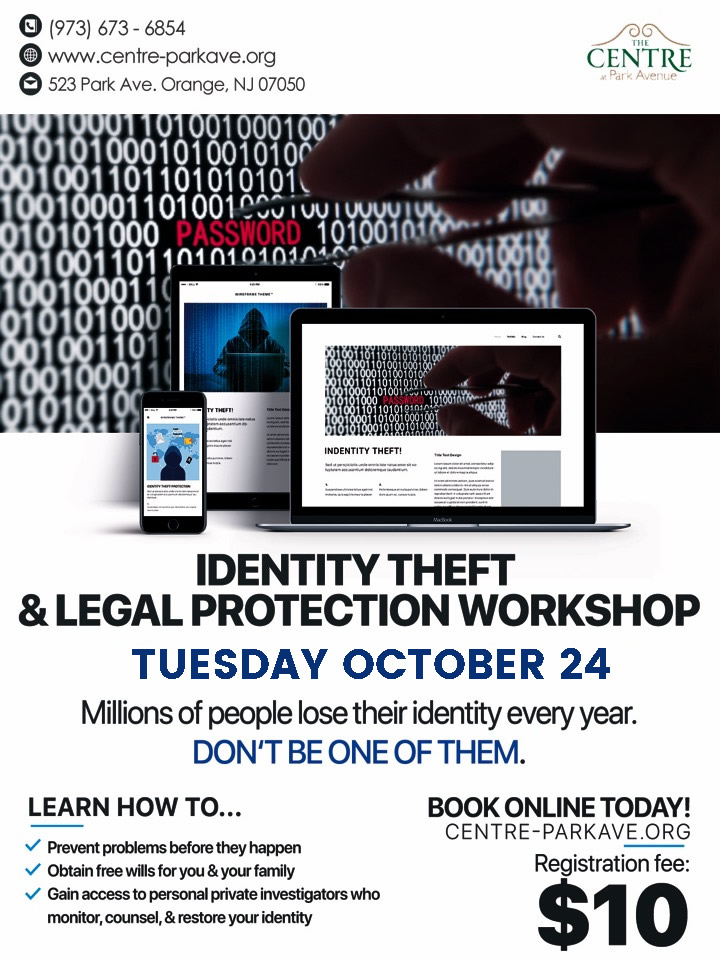 Identity Theft & Legal Protection Workshop - The Centre