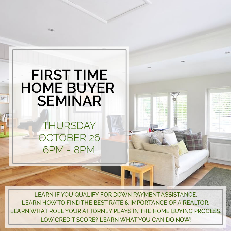 First Time Home Buyer 39 S Seminar The Centre